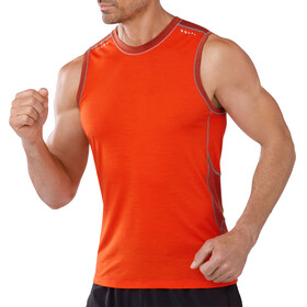 Smartwool M's PhD Ultra Light Sleeveless Bright Orange